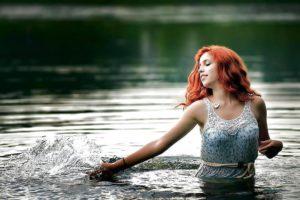 Mooi rood haar en een prachtige foto