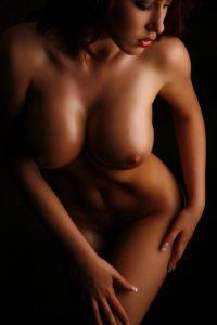 Sensuele foto van grote borsten
